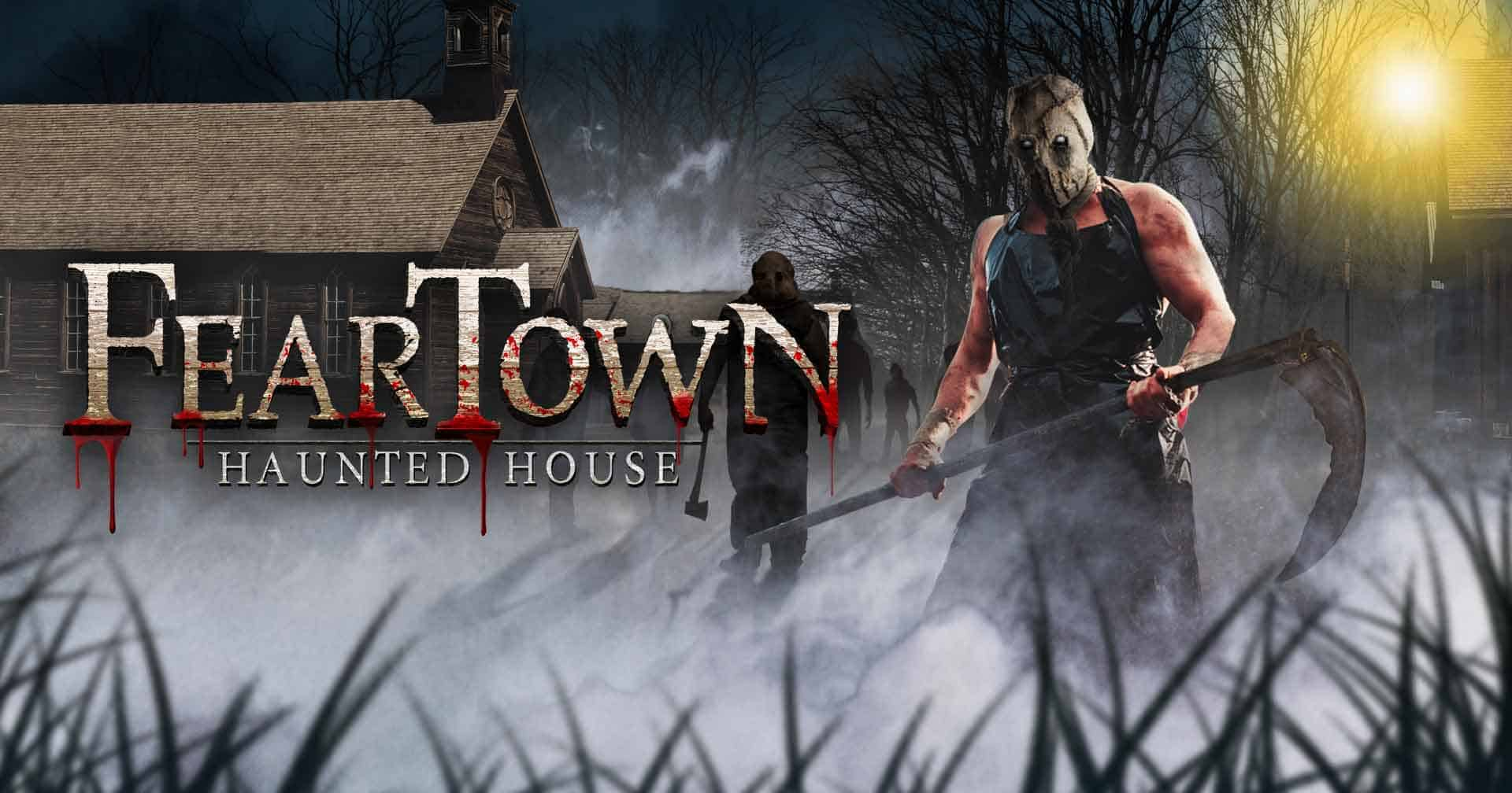 scariest haunted house ri & ma | fear town | providence